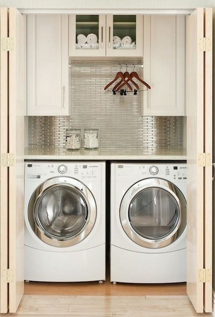 87 Outstanding Basement Laundry Rooms Decoration Models 62