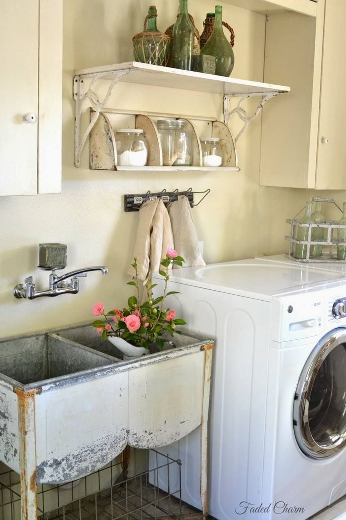 87 Outstanding Basement Laundry Rooms Decoration Models 66