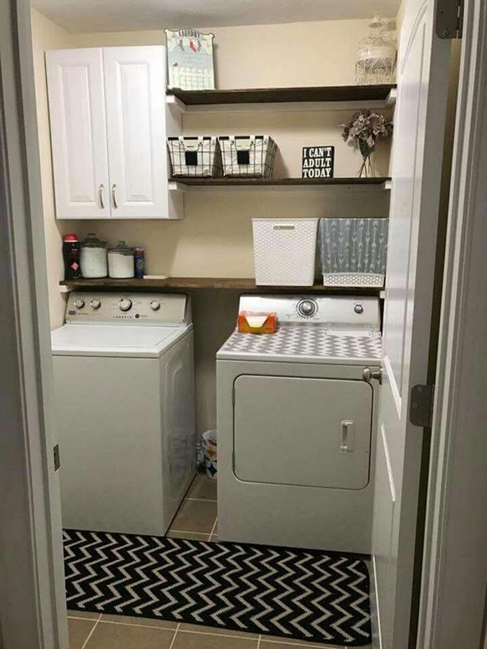 87 Outstanding Basement Laundry Rooms Decoration Models 74