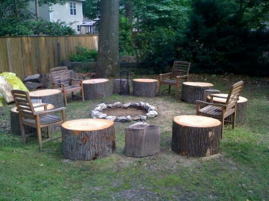 90 Fun Decoration Models Of Backyard Fire Pit Area 34