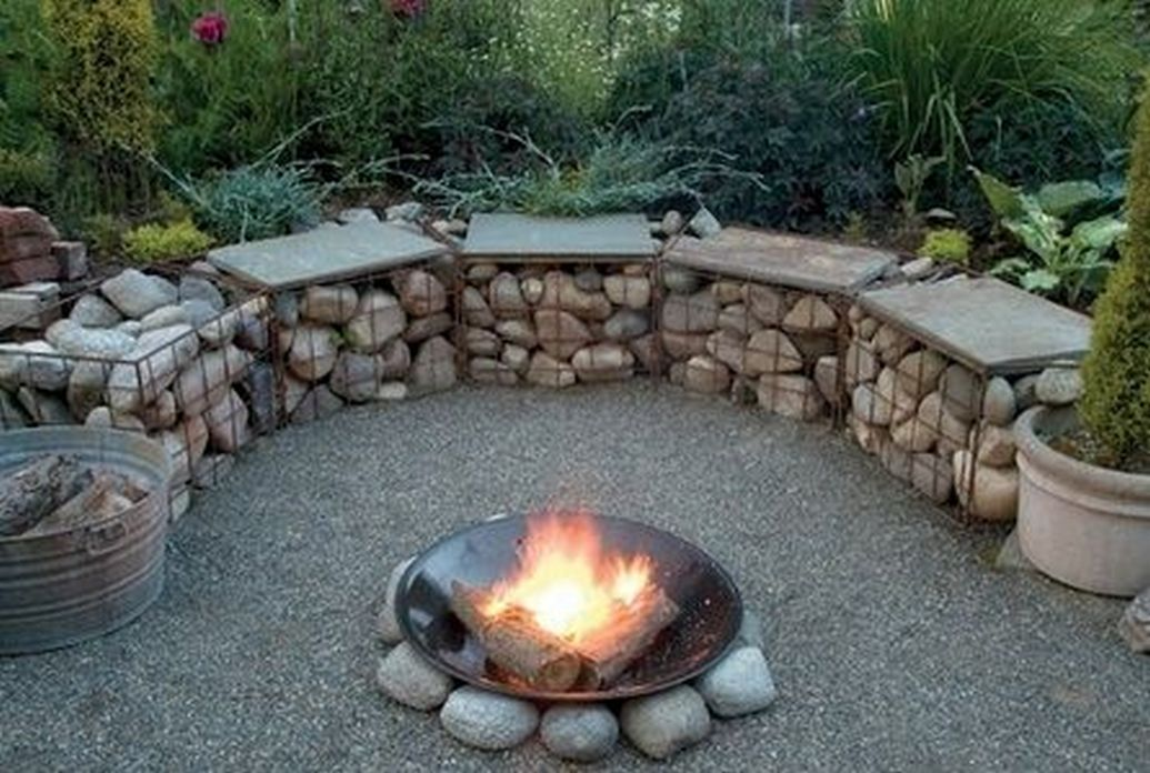 90 Fun Decoration Models Of Backyard Fire Pit Area 6