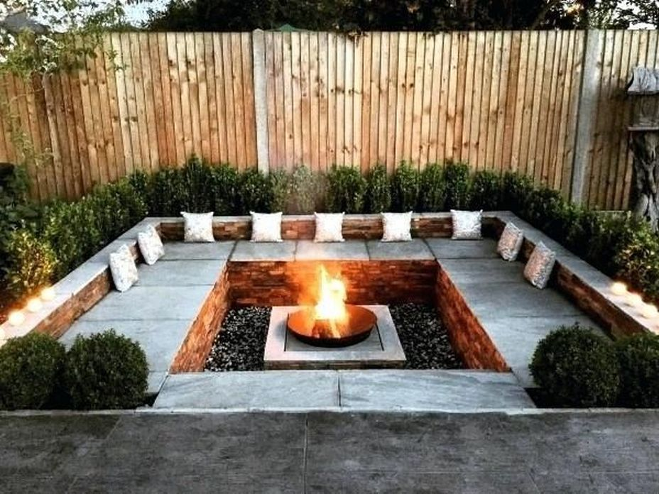 90 Fun Decoration Models Of Backyard Fire Pit Area 72
