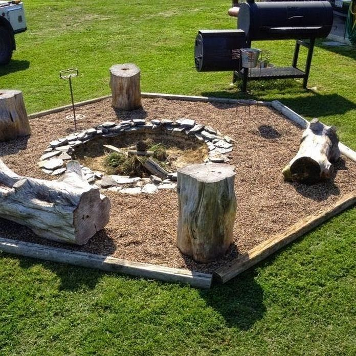 90 Fun Decoration Models Of Backyard Fire Pit Area 87
