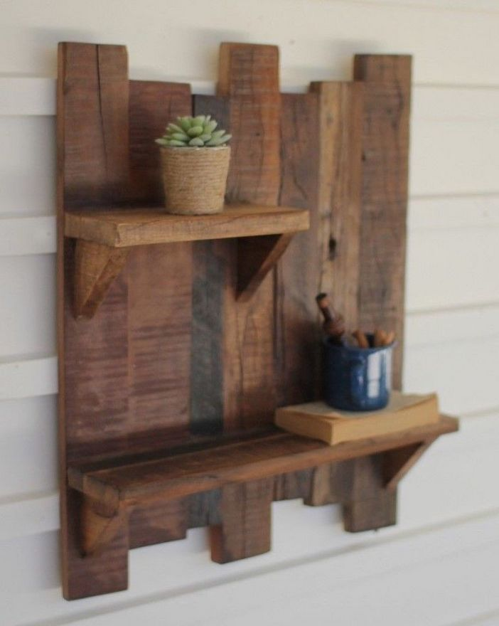 94 Wood Wall Shelves Designs That Inspire To Add To The Beauty Of Your Home Space 11