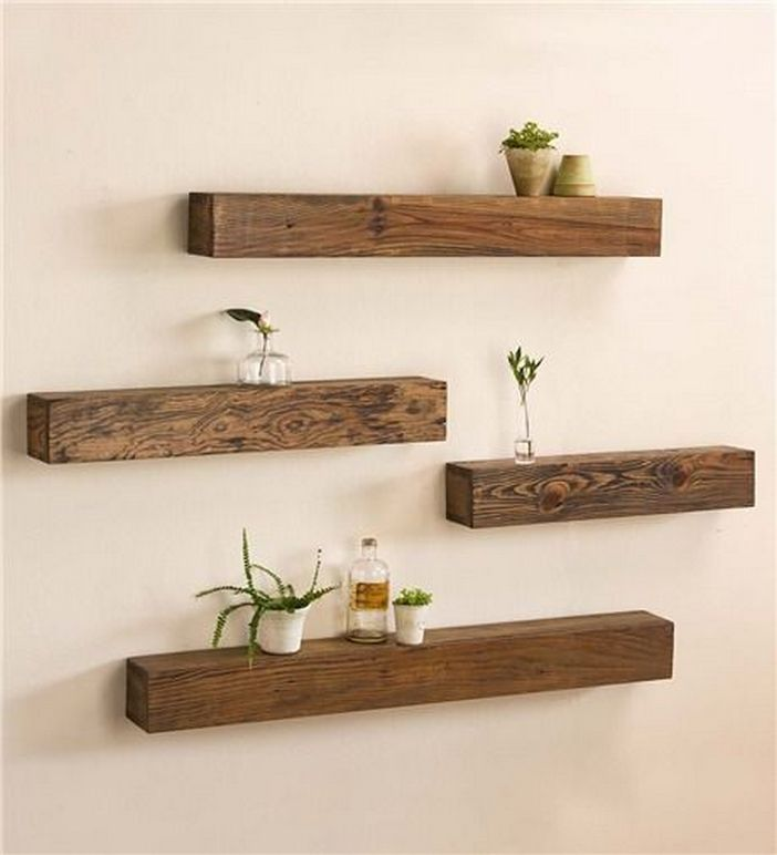 94 Wood Wall Shelves Designs That Inspire To Add To The Beauty Of Your Home Space 33