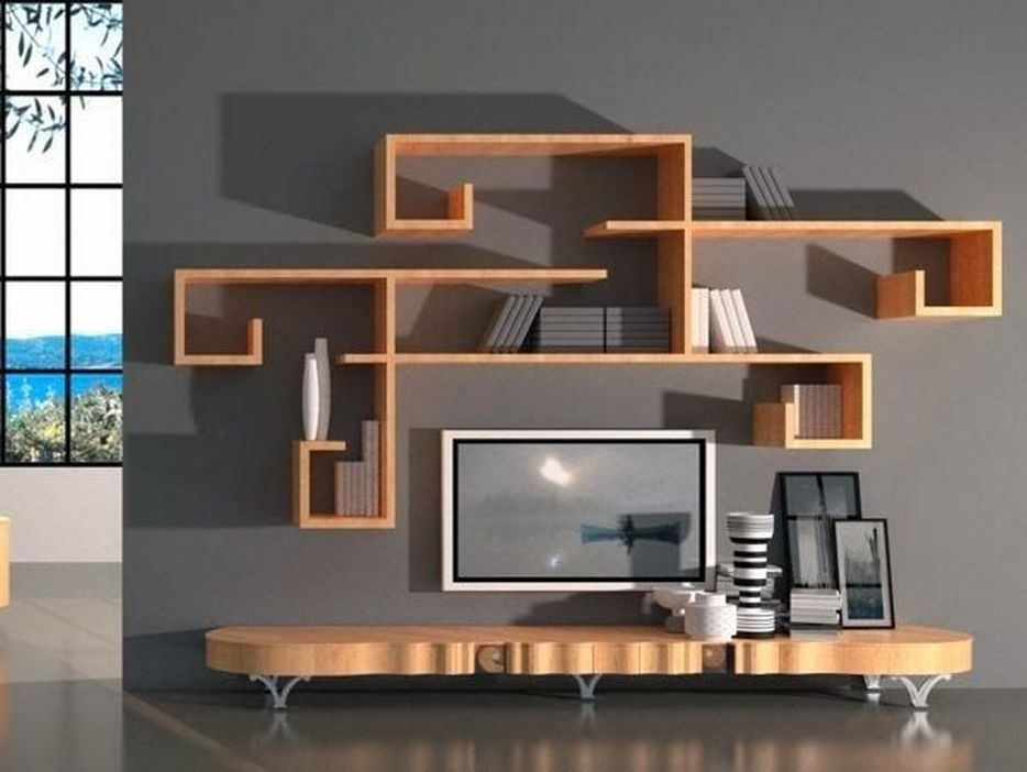 94 Wood Wall Shelves Designs That Inspire To Add To The Beauty Of Your Home Space 35
