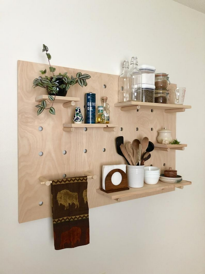 94 Wood Wall Shelves Designs That Inspire To Add To The Beauty Of Your Home Space 52