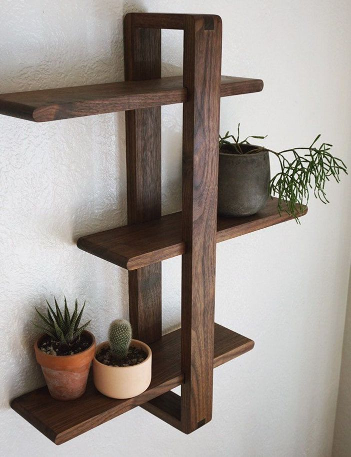 94 Wood Wall Shelves Designs That Inspire To Add To The Beauty Of Your Home Space 74