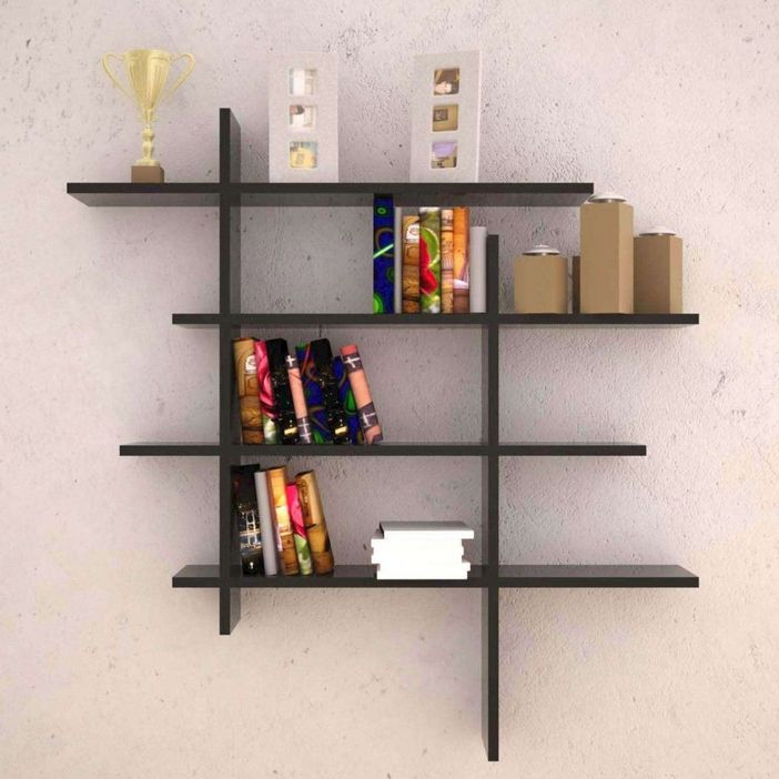 94 Wood Wall Shelves Designs That Inspire To Add To The Beauty Of Your Home Space 84
