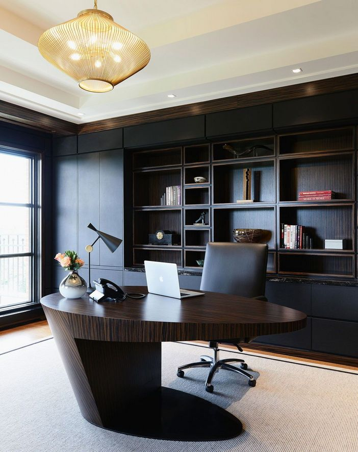 95 Modern Office Decorating Ideas With Inspiring Furniture To Add Style And Functionality To Your Workplace 28