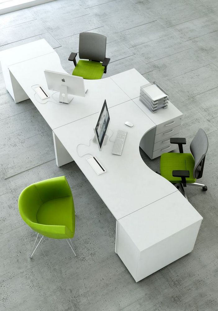 95 Modern Office Decorating Ideas With Inspiring Furniture To Add Style And Functionality To Your Workplace 3