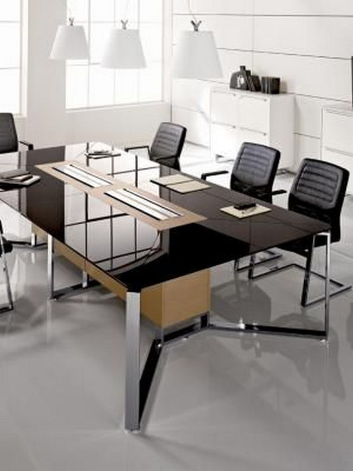95 Modern Office Decorating Ideas With Inspiring Furniture To Add Style And Functionality To Your Workplace 31