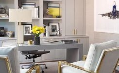 95 Modern Office Decorating Ideas With Inspiring Furniture To Add Style And Functionality To Your Workplace 52