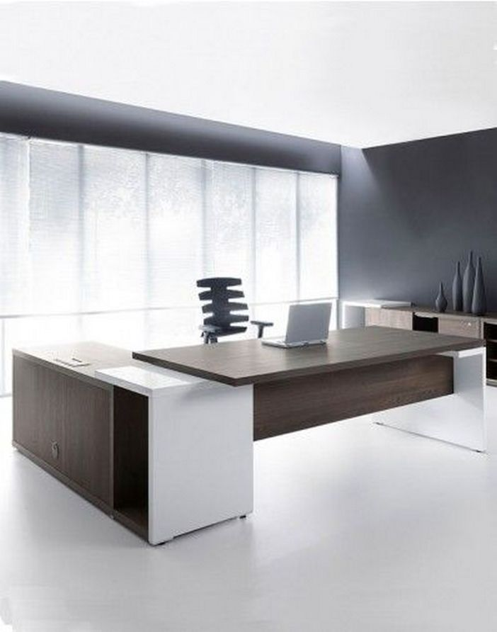 95 Modern Office Decorating Ideas With Inspiring Furniture To Add Style And Functionality To Your Workplace 8