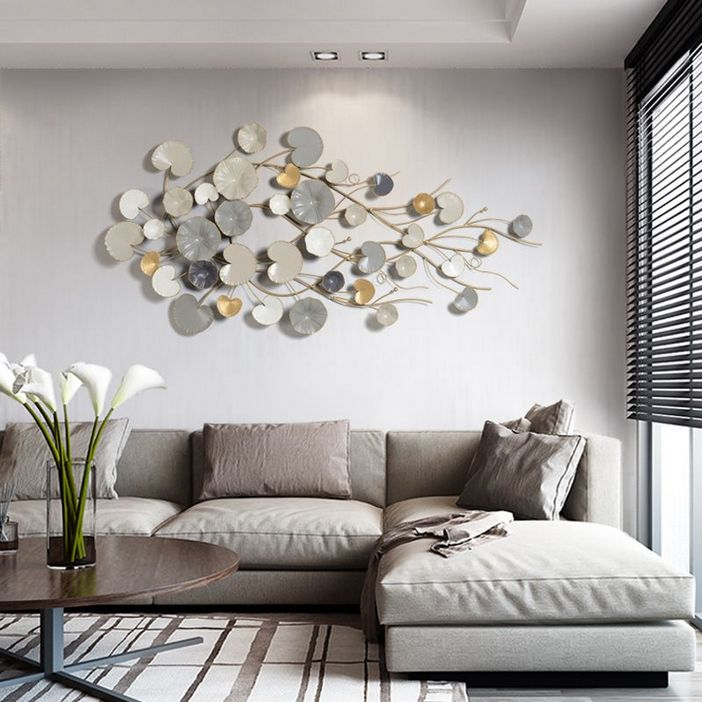 96 Modern Wall Decor Models That Make The Living Room Of Your House Come Alive 20