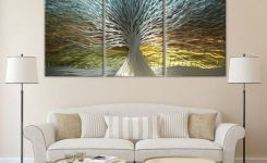 96 Modern Wall Decor Models That Make The Living Room Of Your House Come Alive 25
