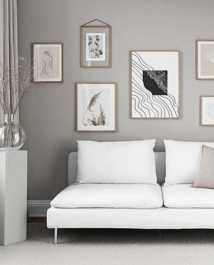 96 Modern Wall Decor Models That Make The Living Room Of Your House Come Alive 26