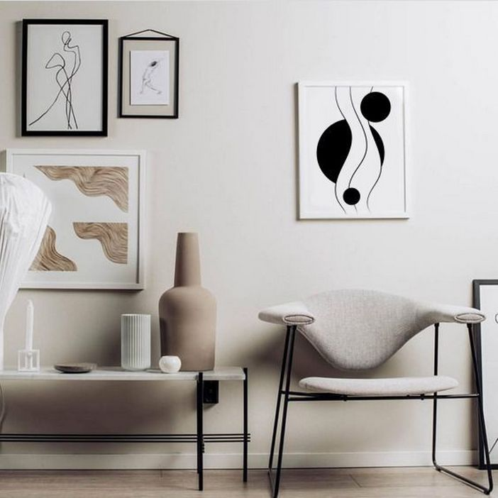 96 Modern Wall Decor Models That Make The Living Room Of Your House Come Alive 27