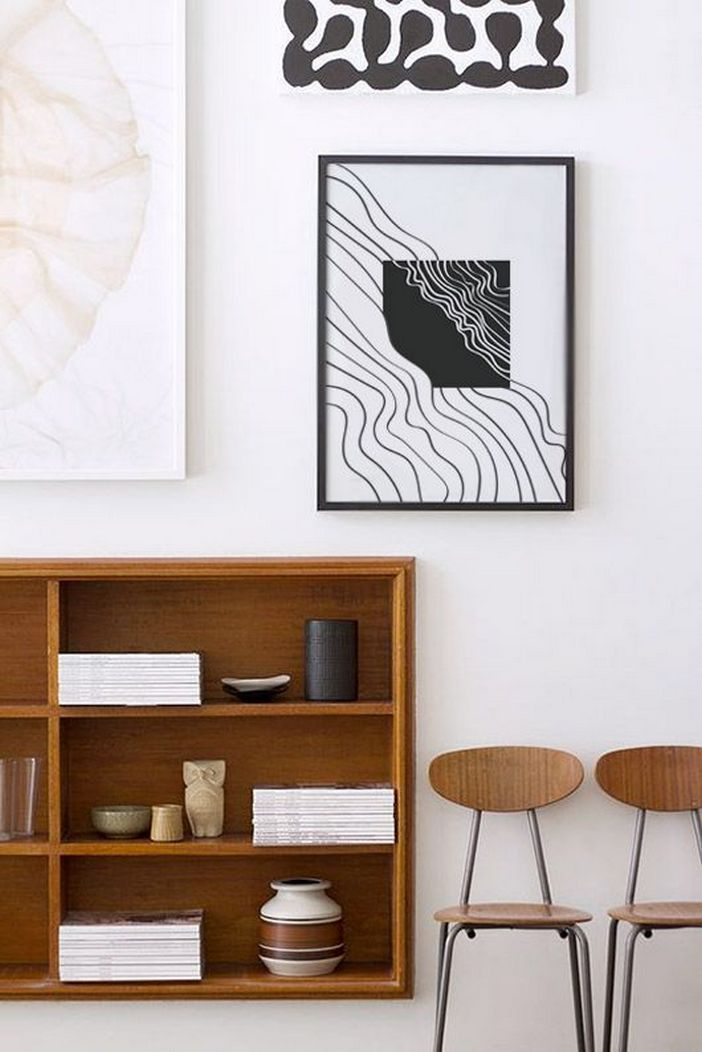 96 Modern Wall Decor Models That Make The Living Room Of Your House Come Alive 31