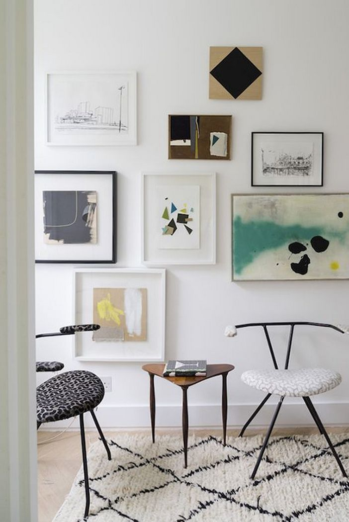 96 Modern Wall Decor Models That Make The Living Room Of Your House Come Alive 49