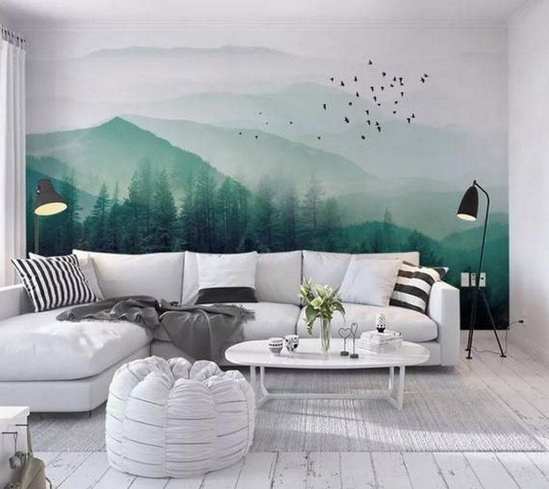 96 Modern Wall Decor Models That Make The Living Room Of Your House Come Alive 62