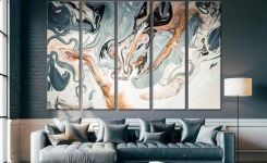 96 Modern Wall Decor Models That Make The Living Room Of Your House Come Alive 78