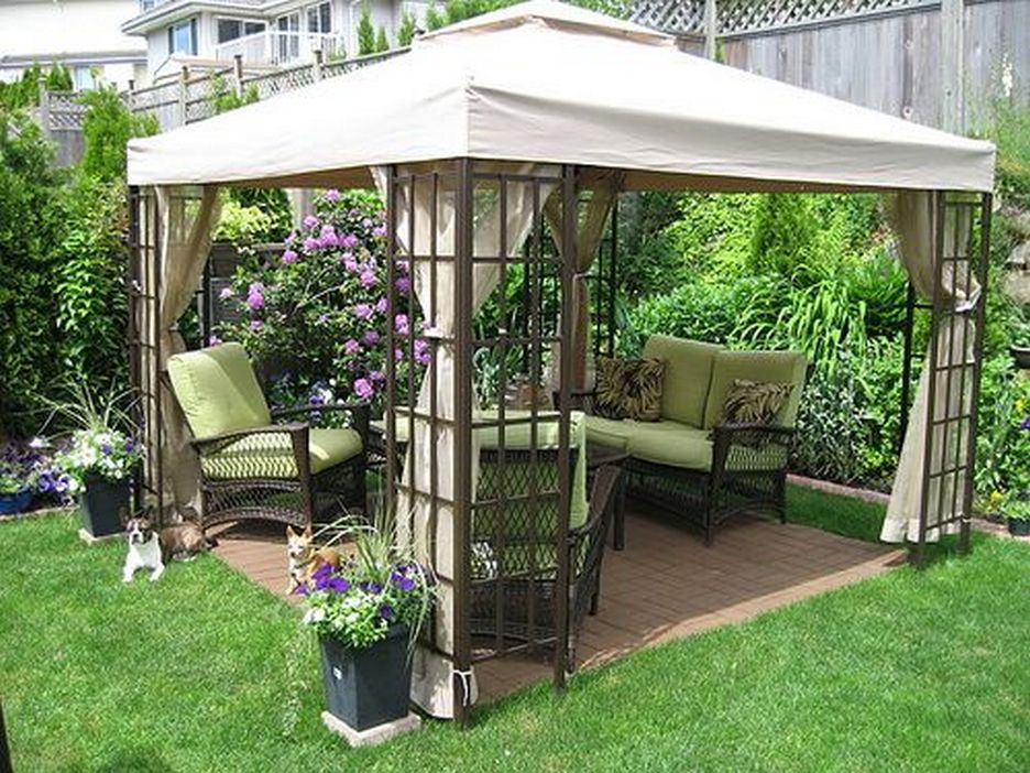 97 Great Patio Gazebo Canopy Design Ideas That Are Great For Replacing Your Gazebo Canopy 1