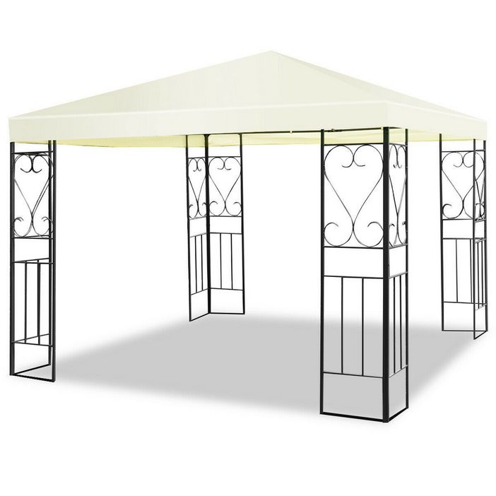 97 Great Patio Gazebo Canopy Design Ideas That Are Great For Replacing Your Gazebo Canopy 15