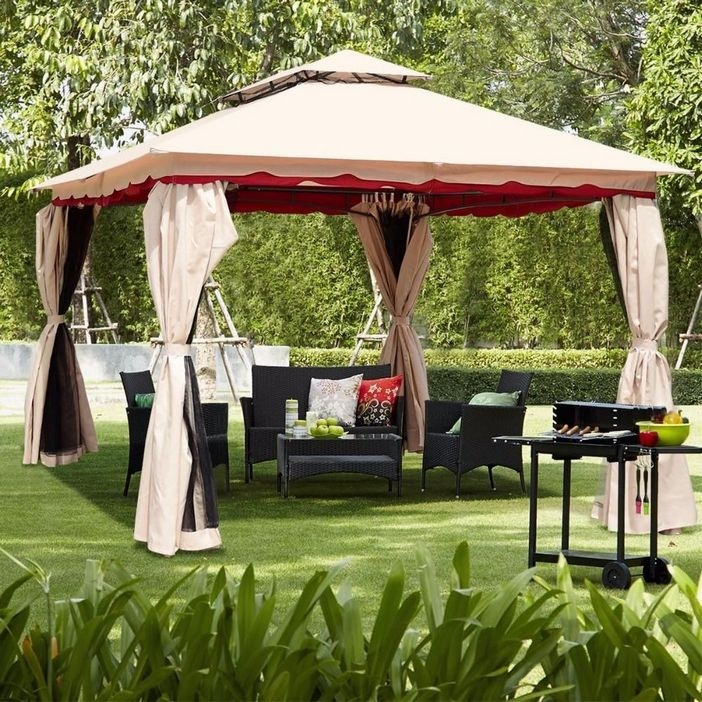 97 Great Patio Gazebo Canopy Design Ideas That Are Great For Replacing Your Gazebo Canopy 27