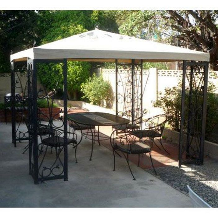 97 Great Patio Gazebo Canopy Design Ideas That Are Great For Replacing Your Gazebo Canopy 28