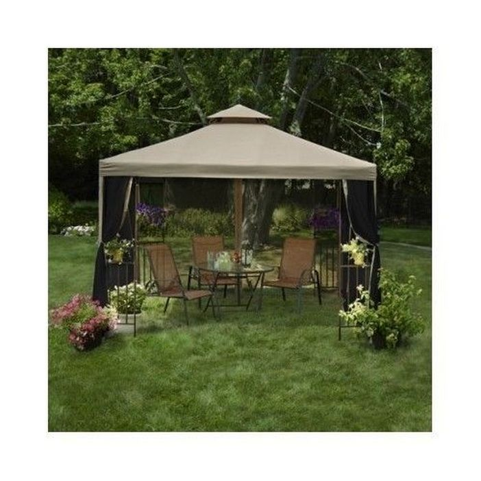 97 Great Patio Gazebo Canopy Design Ideas That Are Great For Replacing Your Gazebo Canopy 3