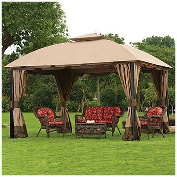 97 Great Patio Gazebo Canopy Design Ideas That Are Great For Replacing Your Gazebo Canopy 30
