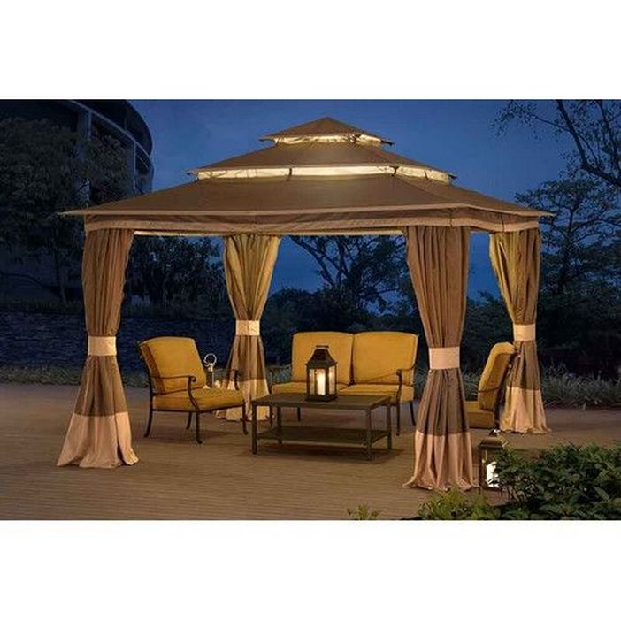 97 Great Patio Gazebo Canopy Design Ideas That Are Great For Replacing Your Gazebo Canopy 35