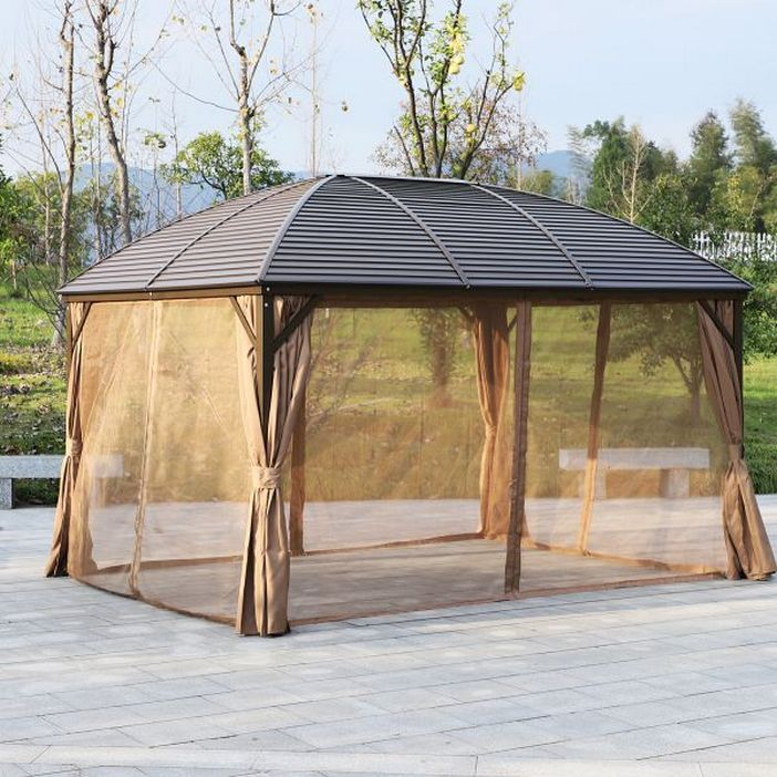 97 Great Patio Gazebo Canopy Design Ideas That Are Great For Replacing Your Gazebo Canopy 38