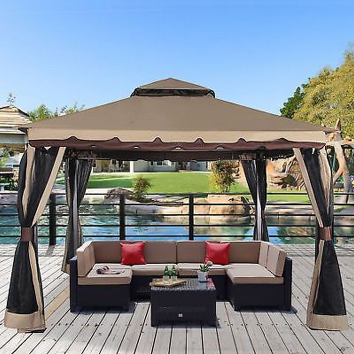 97 Great Patio Gazebo Canopy Design Ideas That Are Great For Replacing Your Gazebo Canopy 4