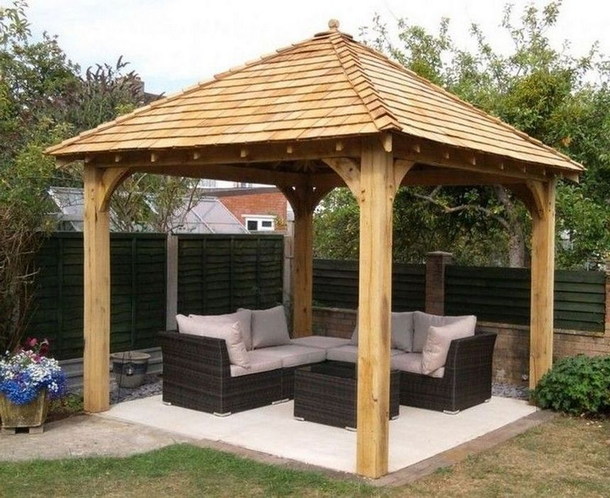 97 Great Patio Gazebo Canopy Design Ideas That Are Great For Replacing Your Gazebo Canopy 51