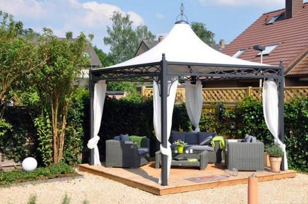 97 Great Patio Gazebo Canopy Design Ideas That Are Great For Replacing Your Gazebo Canopy 54