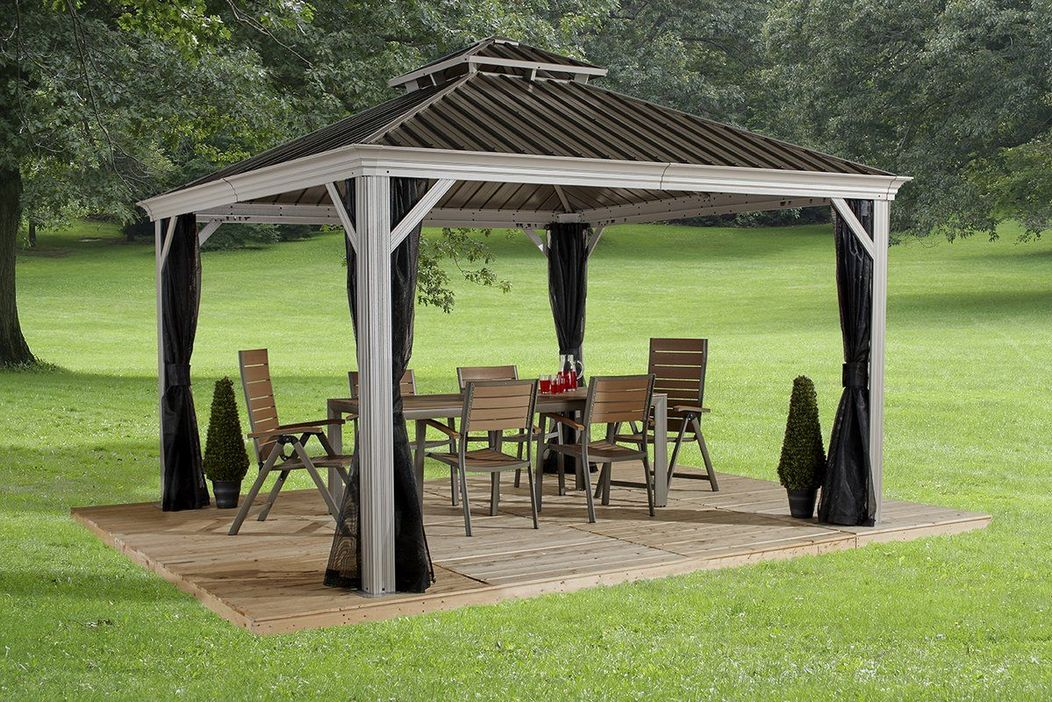 97 Great Patio Gazebo Canopy Design Ideas That Are Great For Replacing Your Gazebo Canopy 55