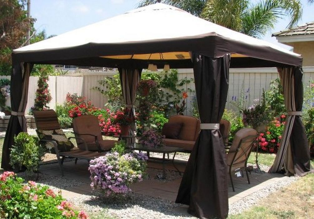 97 Great Patio Gazebo Canopy Design Ideas That Are Great For Replacing Your Gazebo Canopy 61