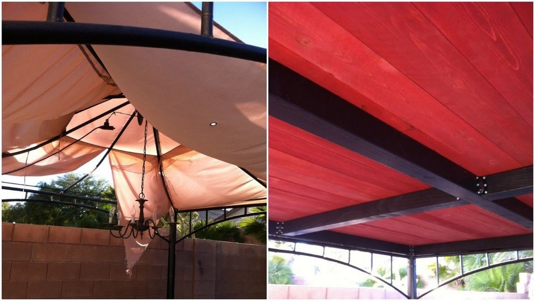 97 Great Patio Gazebo Canopy Design Ideas That Are Great For Replacing Your Gazebo Canopy 64