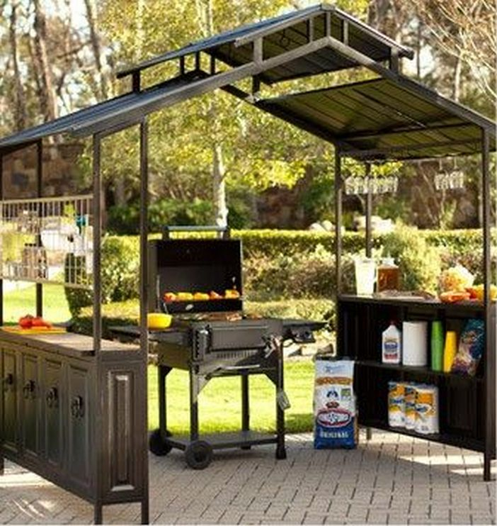 97 Great Patio Gazebo Canopy Design Ideas That Are Great For Replacing Your Gazebo Canopy 69