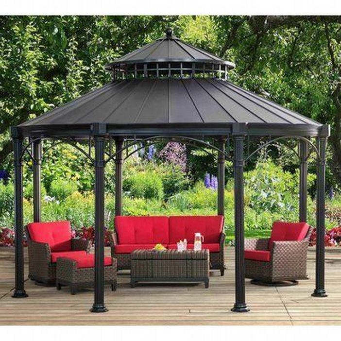 97 Great Patio Gazebo Canopy Design Ideas That Are Great For Replacing Your Gazebo Canopy 7