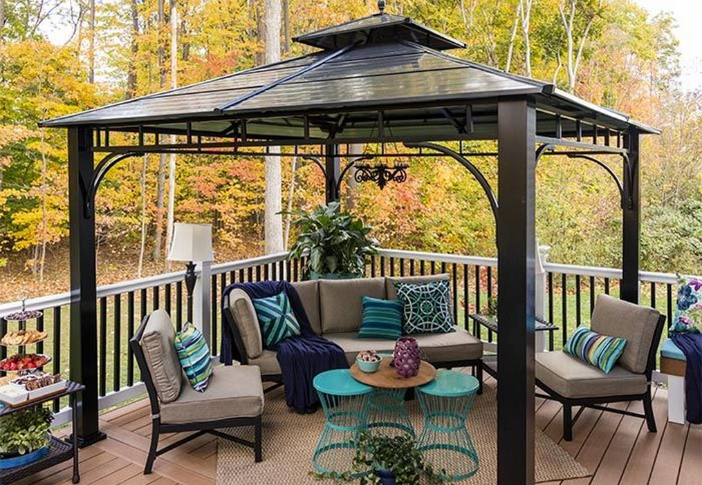 97 Great Patio Gazebo Canopy Design Ideas That Are Great For Replacing Your Gazebo Canopy 72
