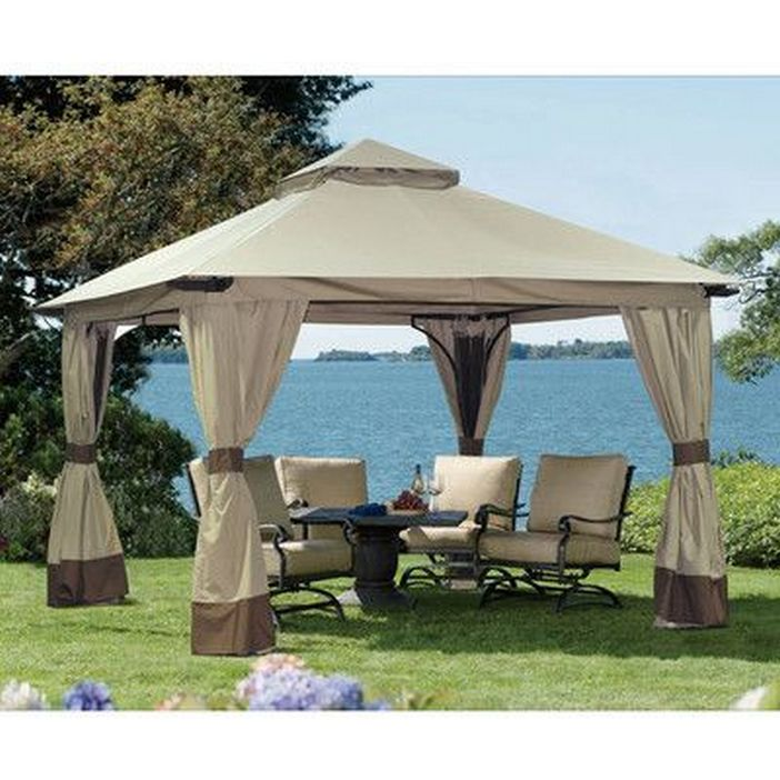 97 Great Patio Gazebo Canopy Design Ideas That Are Great For Replacing Your Gazebo Canopy 90