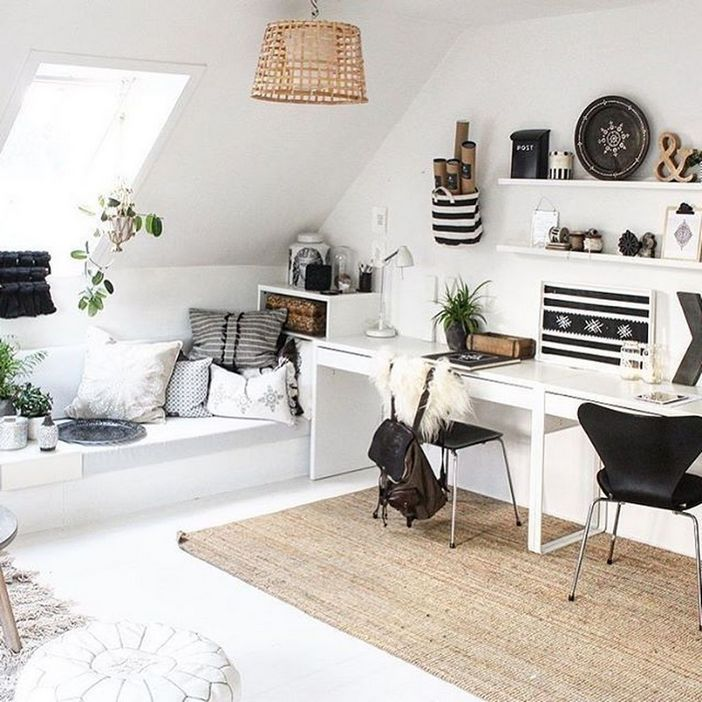 98 Perfect Home Office Decoration Models And Tips For Making Them 33