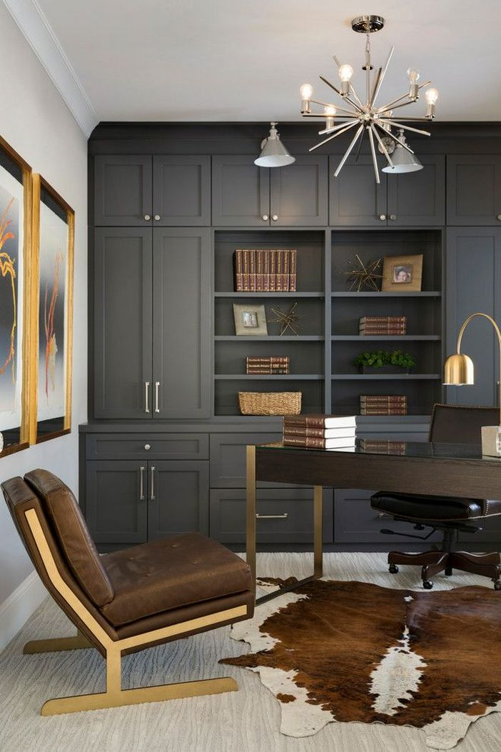 98 Perfect Home Office Decoration Models And Tips For Making Them 35
