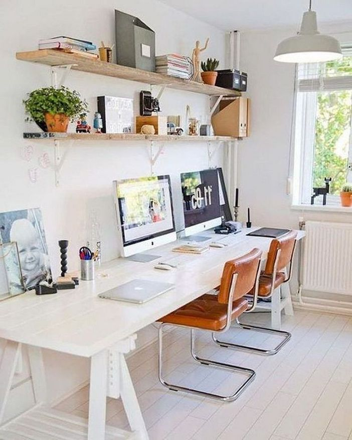 98 Perfect Home Office Decoration Models And Tips For Making Them 38