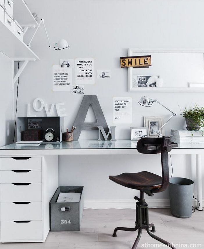 98 Perfect Home Office Decoration Models And Tips For Making Them 46