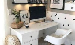 98 Perfect Home Office Decoration Models And Tips For Making Them 47