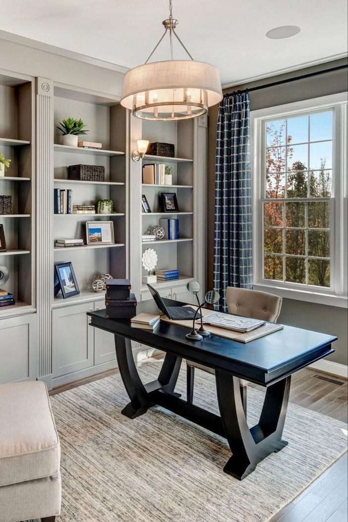 98 Perfect Home Office Decoration Models And Tips For Making Them 50